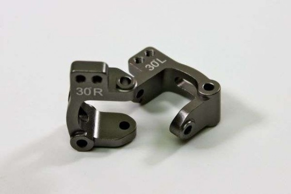 TeamC Alu C-Type Holder 30° (2 pcs) 2WD