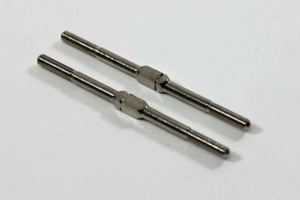 TeamC TeamC T02091 - Turnbuckle Steering 3x54mm (2 pcs) 2WD Comp. Buggy