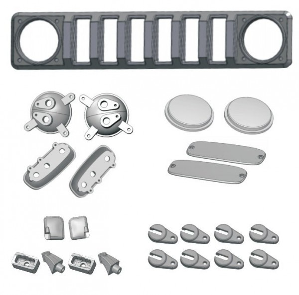 Redcat Racing Gen8 Scout Accessory Kit for clear body