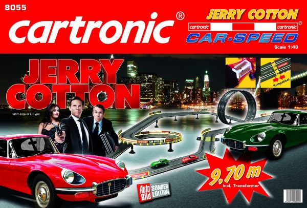 "Autec AG - Cartronic Autodráha Cartronic Car-Speed ""Jerry Cotton"" 9,70 m"