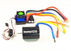 MonsterTronic COMBO SET BRUSHLESS 12T 3100KV