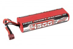 TEAM CORALLY Sport Racing 50C LiPo Stick Hardcase-4500mAh-7.4V-T-DYN (33,3Wh)