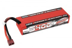 TEAM CORALLY Sport Racing 50C LiPo Stick Hardcase-5400mAh-7.4V-T-DYN (40,0Wh)