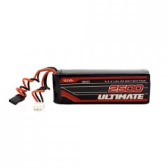 Ultimate Racing ULTIMATE 6.6V - 2500mAh LIFE plochá sada JR