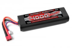 TEAM CORALLY Power Racing 30C-4000mAh-7,4V-LiPo Stick Hardcase-T-DYN