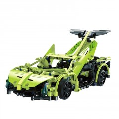 Double Eagle Závoďák - Sports Car RC stavebnice z kostek