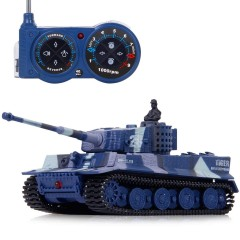 S-Idee Mini GERMAN TIGER 1:72 modrý