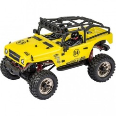 CARSON MODEL SPORT Crawler Mountain Warrior Sport  1:12 žlutý
