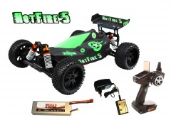 DF models Hot Fire Buggy 5, 1:10 XL Brushless RTR Waterproof